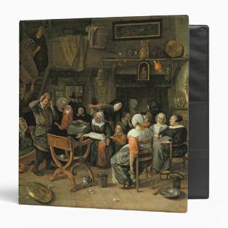 """El banquete del bautizo, 1668 carpeta 1 1/2"""""""