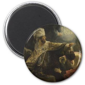 El banquete del Belshazzar Iman Para Frigorífico