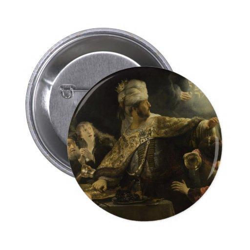 El banquete del Belshazzar Pin