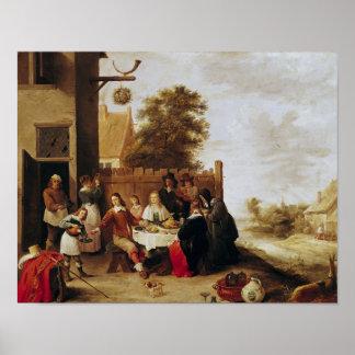 El banquete del hijo despilfarrador 1644 posters