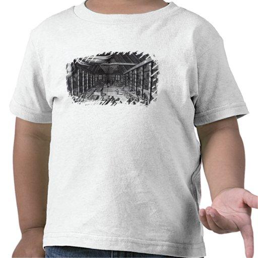 El banquete real, ejemplo camiseta