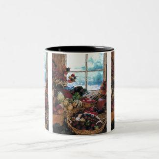 El banquete - taza de café de dos colores