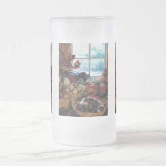 El banquete - taza de cristal