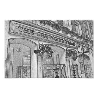 El bar sostenido del fraile cojinete