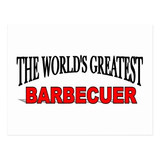 El Barbecuer más grande del mundo Tarjetas Postales