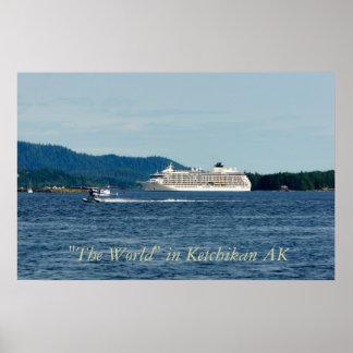 """El barco de cruceros del """"mundo"""" impresiones"""