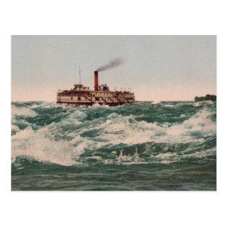 El barco de vapor de Hamilton, Rapids de Lachine Tarjetas Postales