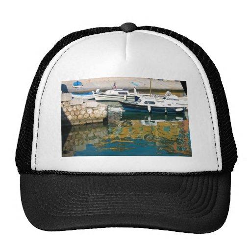 El barco gorras de camionero