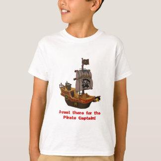 El barco pirata de Bucanero embroma la camiseta