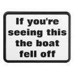 El barco se cayó de la cita divertida para los due tapas de remolque