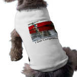 El barco vuela camisetas de perrito