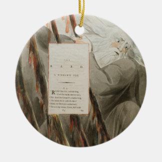 El bardo: Una oda pindárica, 'de los poemas de Tho Ornamento Para Arbol De Navidad