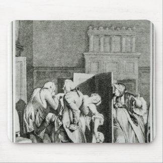 El barón… Candide saludado Alfombrillas De Raton