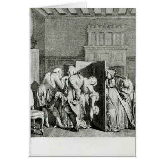El barón… Candide saludado Tarjeta De Felicitación