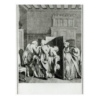 El barón… Candide saludado Tarjetas Postales
