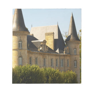 El barón Pichon Longueville del castillo francés a Libreta Para Notas