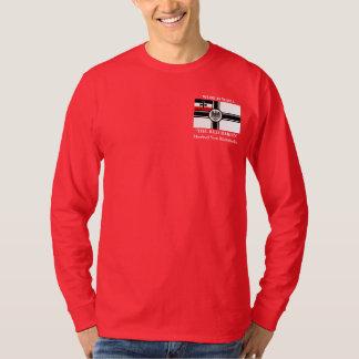 El barón rojo Manfred Von Richthofen L.S. Tee Camisas