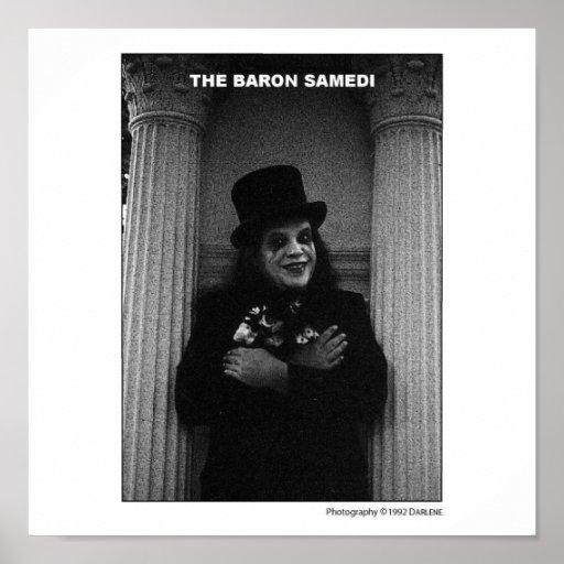 El barón Samedi Poster