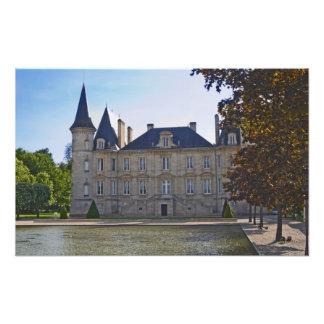 El barón y la charca de Pichon Longueville del cas Arte Con Fotos