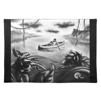 El barquero manteles individuales