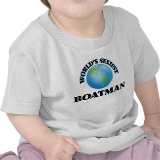 El barquero más atractivo del mundo camiseta