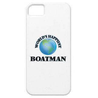 El barquero más feliz del mundo iPhone 5 Case-Mate protectores