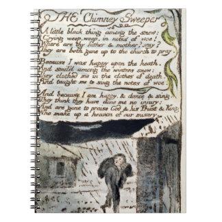 """""""El barrendero de la chimenea"""", platea 41 (Bentley Libro De Apuntes Con Espiral"""