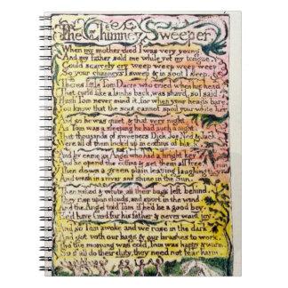 """""""El barrendero de la chimenea"""", platea 7 (Bentley  Libro De Apuntes Con Espiral"""