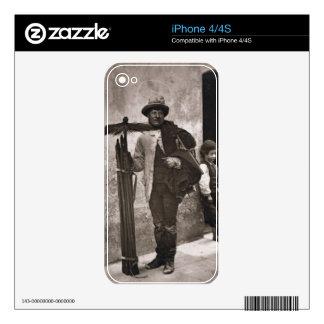 El barrido de la templanza, 1876-77 (woodburytype) iPhone 4S calcomanías