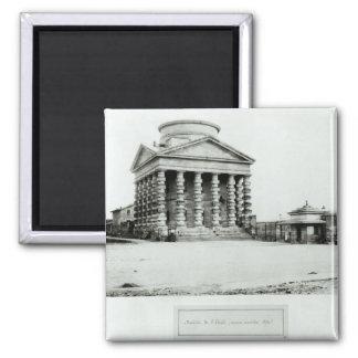 El Barriere de l'Etoile, París, 1858-78 Imán Cuadrado