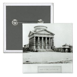 El Barriere de l'Etoile, París, 1858-78 Pin Cuadrado