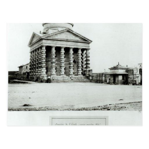 El Barriere de l'Etoile, París, 1858-78 Postal
