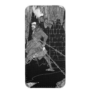El barril de Edgar Allan Poe de Amontillado Funda Acolchada Para iPhone