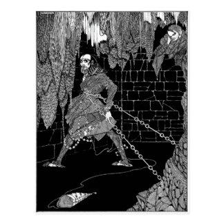 El barril de Edgar Allan Poe de Amontillado Postales