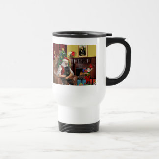 El barro amasado negro de Santa Taza De Café