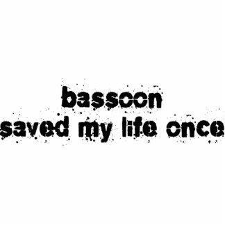 El Bassoon ahorró mi vida una vez Adorno Fotoescultura