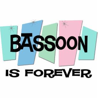 El Bassoon es Forever Adorno Fotoescultura