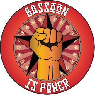 El Bassoon es poder Adorno Fotoescultura