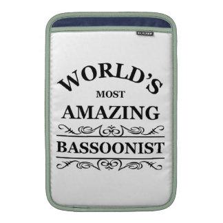 El Bassoonist más asombroso del mundo Funda Macbook Air