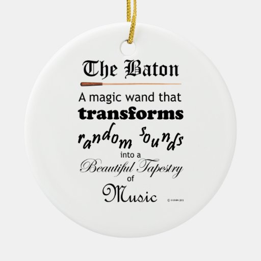 El bastón ornamento para reyes magos