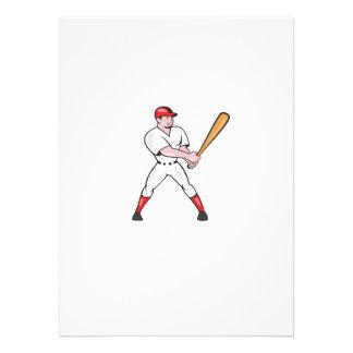 El bateo del bateador del béisbol aisló el dibujo