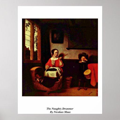 El batería travieso de Nicolaes Mosa Posters