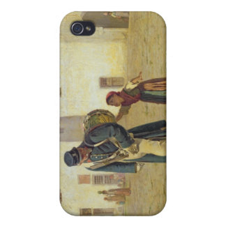 El batidor de tambor, 1867 iPhone 4 funda
