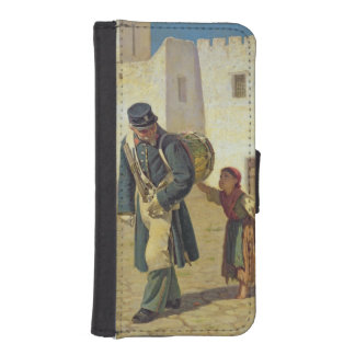 El batidor de tambor, 1867 cartera para teléfono