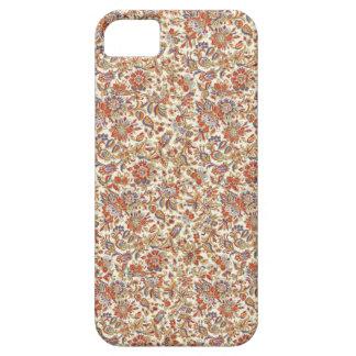 El batik indonesio florece la caja del iphone 5/5S iPhone 5 Fundas