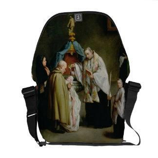 El bautismo bolsas messenger