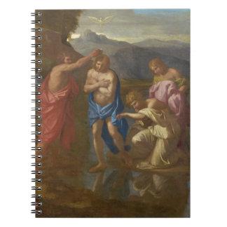 El bautismo de Cristo, 1641-42 Libro De Apuntes