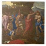 El bautismo de Cristo, 1641-42 Teja