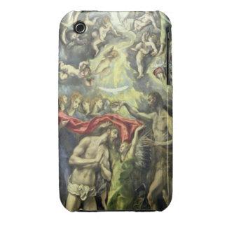 El bautismo de Cristo, c.1597 (aceite en lona) Case-Mate iPhone 3 Coberturas