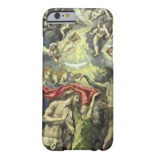 El bautismo de Cristo, c.1597 (aceite en lona) Funda Para iPhone 6 Barely There